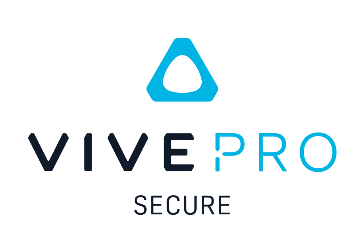 VIVE Pro Secure Logo Stacked